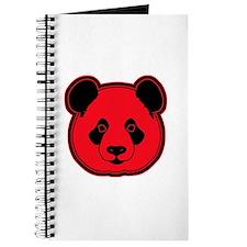 panda head red 02 Journal