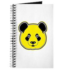 panda head yellow 01 Journal