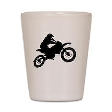 Cute Motocross Shot Glass