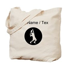 Custom Tennis Player Tote Bag