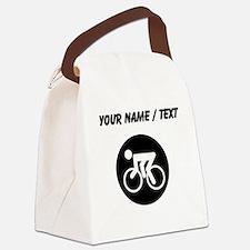 Custom Cycling Canvas Lunch Bag