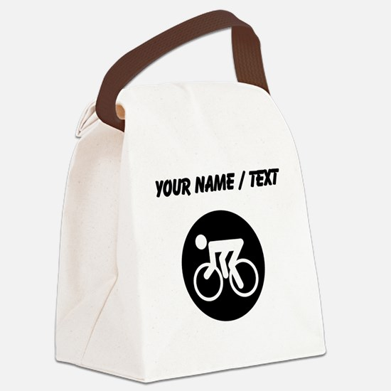 Custom Cycling Canvas Lunch Bag