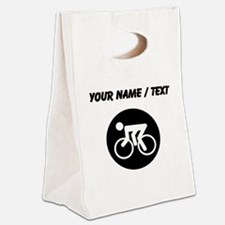 Custom Cycling Canvas Lunch Tote