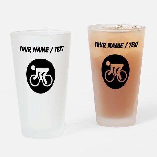 Custom Cycling Drinking Glass