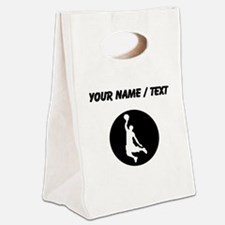 Custom Basketball Dunk Canvas Lunch Tote