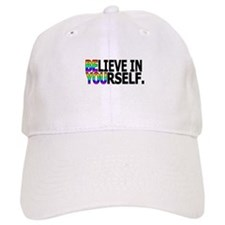 Believe In Yourself Baseball Baseball Cap