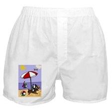 Killer Whale at the Beach Boxer Shorts