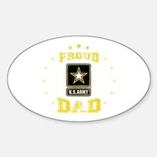 US Army proud Dad Decal