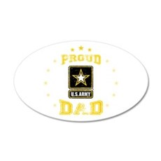 US Army proud Dad Wall Decal