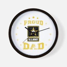 US Army proud Dad Wall Clock