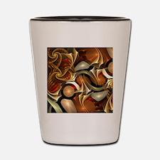 Abstract Design Shot Glass