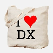 I Love DX Tote Bag