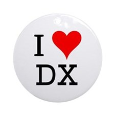 I Love DX Ornament (Round)