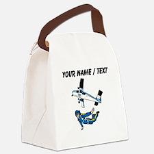 Custom Skydiving Canvas Lunch Bag