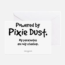 Powered by Pixie Dust Greeting Card