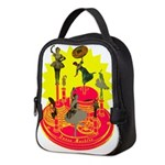 Dance Machine Neoprene Lunch Bag
