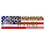 Remember September 11th Bumper Sticker