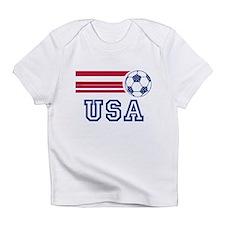 Cute Usa soccer Infant T-Shirt