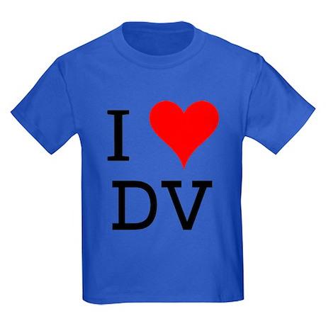 I Love DV Kids Dark T-Shirt