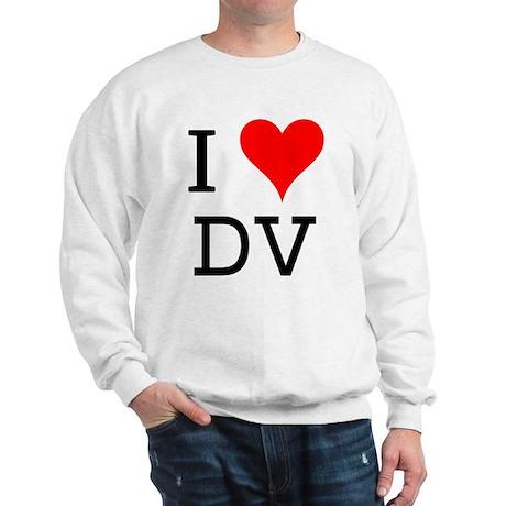 I Love DV Sweatshirt