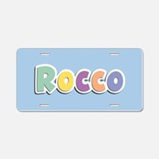 Rocco Spring14 Aluminum License Plate