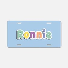 Ronnie Spring14 Aluminum License Plate
