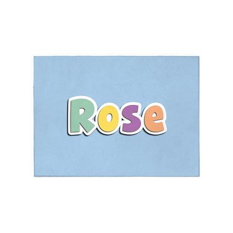 Rose Spring14 5'x7'Area Rug