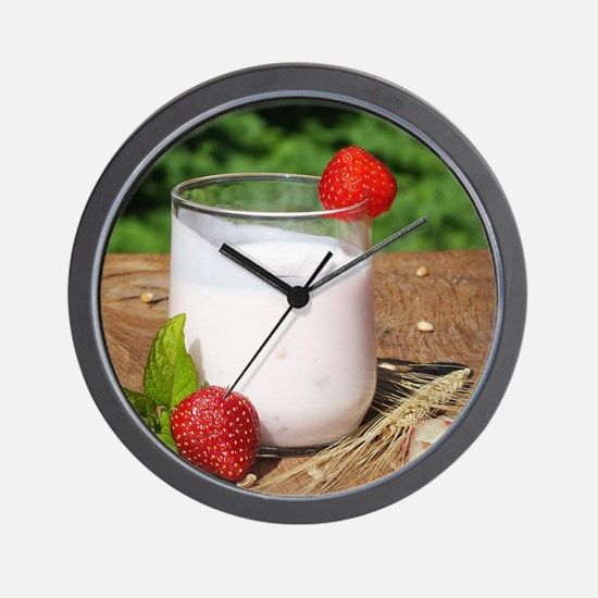fruchtmilch Wall Clock