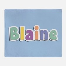 Blaine Spring14 Throw Blanket