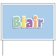 Blair Spring14 Yard Sign