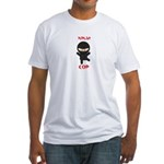 Ninja Cop Fitted T-Shirt