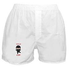 Ninja Cop Boxer Shorts