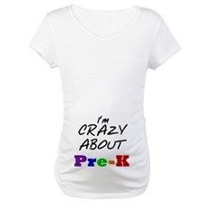 Crazy About Pre-K Shirt