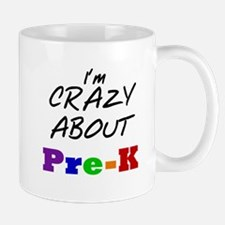Crazy About Pre-K Mug