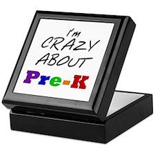 Crazy About Pre-K Keepsake Box