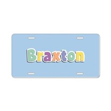 Braxton Spring14 Aluminum License Plate