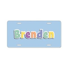 Brenden Spring14 Aluminum License Plate