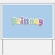 Brittney Spring14 Yard Sign