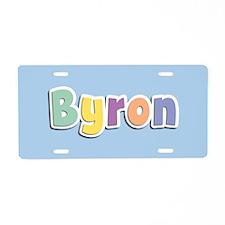 Byron Spring14 Aluminum License Plate