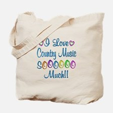 Country Love So Much Tote Bag