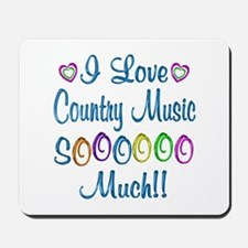 Country Love So Much Mousepad