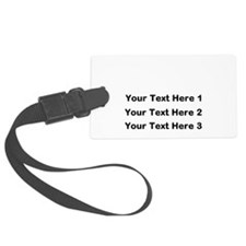 Make Personalized Gifts Luggage Tag