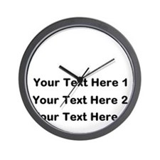 Make Personalized Gifts Wall Clock