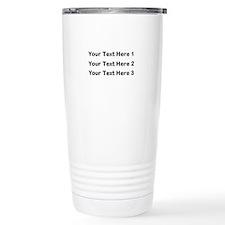 Make Personalized Gifts Travel Mug