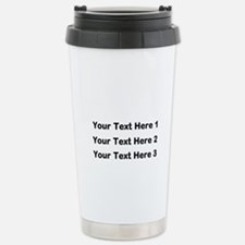 Make Personalized Gifts Travel Mug