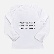 Make Personalized Gifts Long Sleeve T-Shirt