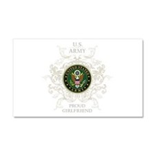 US Army Seal proud girlfriend Car Magnet 20 x 12