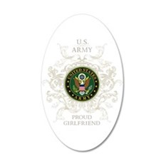 US Army Seal proud girlfrien Wall Decal