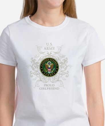 US Army Seal proud girlfriend Women's T-Shirt