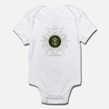 US Army Seal proud girlfriend Infant Bodysuit